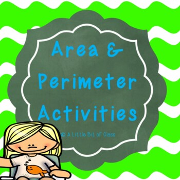 Area and Perimeter Worksheet Activities