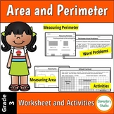 Area and Perimeter Worksheets and Activities