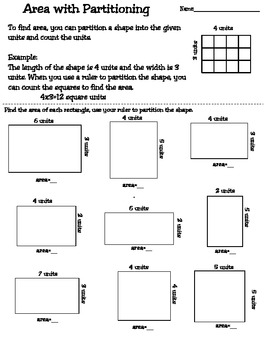Area and Perimeter Worksheets and Games by Teaching MrsT | TpT