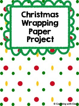 Area and Perimeter Wrapping Paper Project
