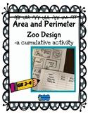 Area and Perimeter Zoo Design Cumulative Activity