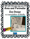 Area and Perimeter Zoo Design  -a cumulative activity