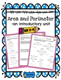 Area and Perimeter -an introductory mini unit