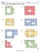 Area and Perimeter using Squares - color - TEKS 3.6C & 3.7B