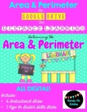 Area and Perimeter for Distance Learning