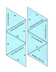 Area and Perimeter for Elementary Triangle Game Puzzle with Worksheet
