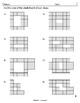 Area and Perimeter using Squares - grayscale - TEKS 3.6C & 3.7B