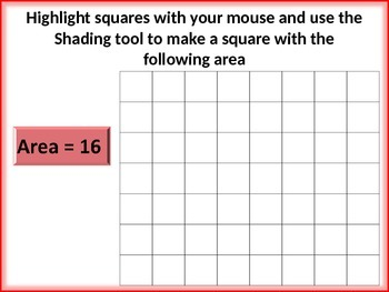 Area and Perimeter in PowerPoint
