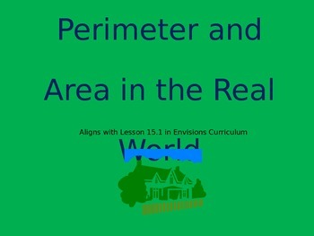 15.1 Area and Perimeter in the Real World