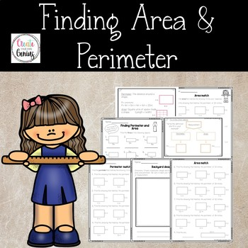 Area and Perimeter notes and worksheets activity