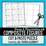 Area and Perimeter of Composite Figures Puzzle