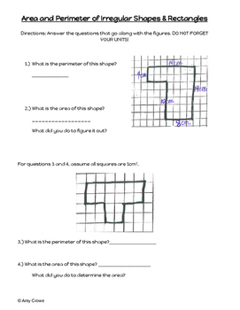Area and Perimeter of Compound Figures