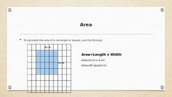 Area and Perimeter of Irregular Figures Power Point