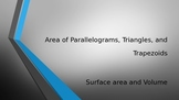 Area and Perimeter of Irregular Figures-Triangles, Parallelograms, Trapezoids