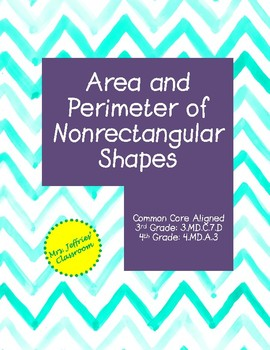 Area and Perimeter of Non-rectangular Shapes