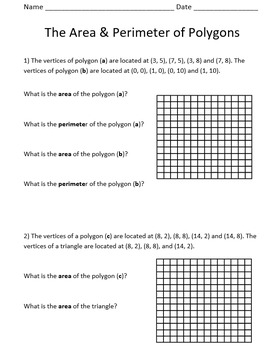 Area and Perimeter of Polygons