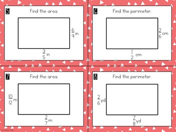 Area and Perimeter of Rectangles BUNDLE
