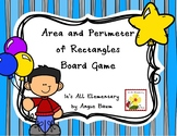 Area and Perimeter of Rectangles Board Game
