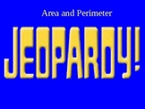 Area and Perimeter of Rectangles Jeopardy