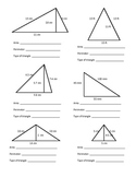 Area and Perimeter of Rectangles, Triangles, Circles and Trapezoids Work Packet
