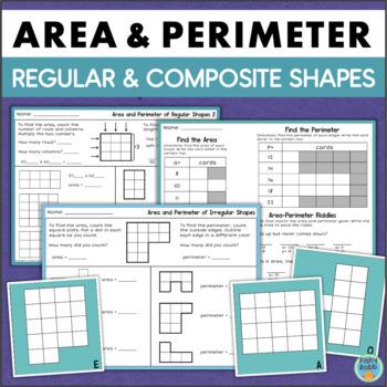 Area and Perimeter of Regular and Irregular Shapes