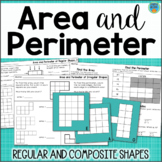 Area and Perimeter of Regular and Composite Figures