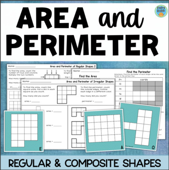 Finding Area Of Composite Shapes Worksheet Teaching Resources ...