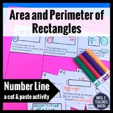 Area and Perimeter of Squares and Rectangles Cut and Paste