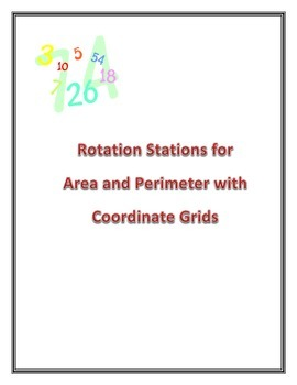 Area and Perimeter of Triangles, rectangles, trapezoids..etc with coordinate gri