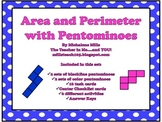 Area and Perimeter using Pentominoes