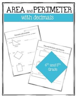 Area and Perimeter with Decimals