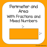 Area and Perimeter with Fractions