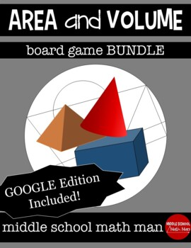 Area and Volume Board Game Bundle
