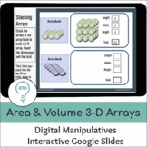 Area and Volume | Digital 3D Arrays Visual Models