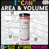 6th Grade Area and Volume Game