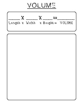 Area and Volume Game Board