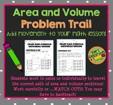 Area and Volume Problem Trail- Add Movement to Your Math Lesson