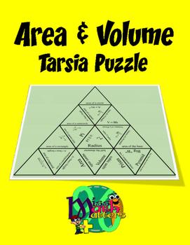 Area and Volume Tarsia Puzzle