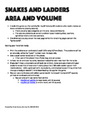 Area and Volume - for AP Calculus AB and BC