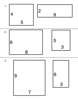 Area and perimeter of complex figures