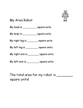 Área de mi robot