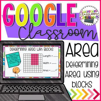 3rd Grade Area for Google Classroom 3.MD.C.6 TEKS 3.6.C
