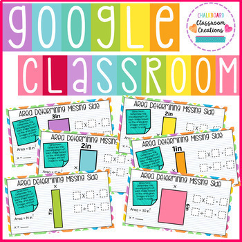 3rd Grade Area for Google Classroom 3.MD.D.8