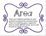 Area games