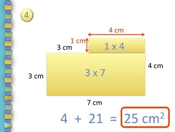 Area is Additive PowerPoint - Common Core 3.MD.7.d