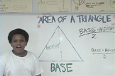 Area of A Triangle (All About That Base)