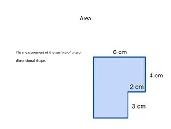 Area of Abnormal Shapes Power Point