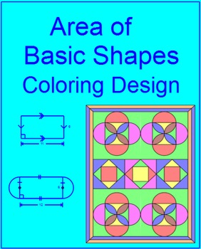 AREA: BASIC SHAPES - COLORING ACTIVITY