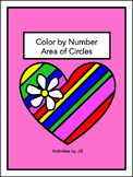 Area of Circles Color by Number