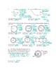 Area of Circles & Compound Shapes (Terms of Pi & Decimals) Geometry Worksheet